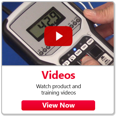 Videos - Watch product and training videos.