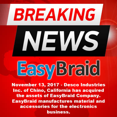 Easy Braid Company Acquisition