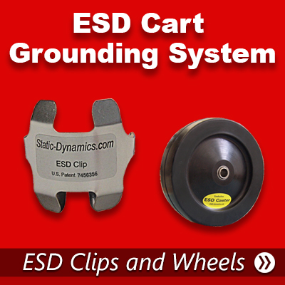 ESD Cart Grounding  System