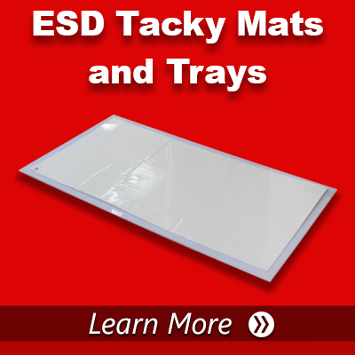ESD Tacky Mats and Trays