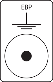 Earth Bonding Point symbol