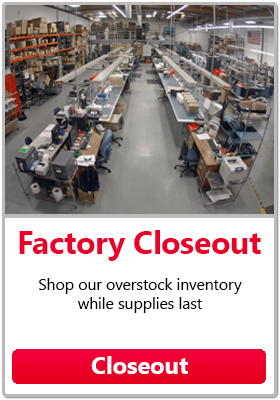 Closeout - Shop our overstock inventory while supplies last