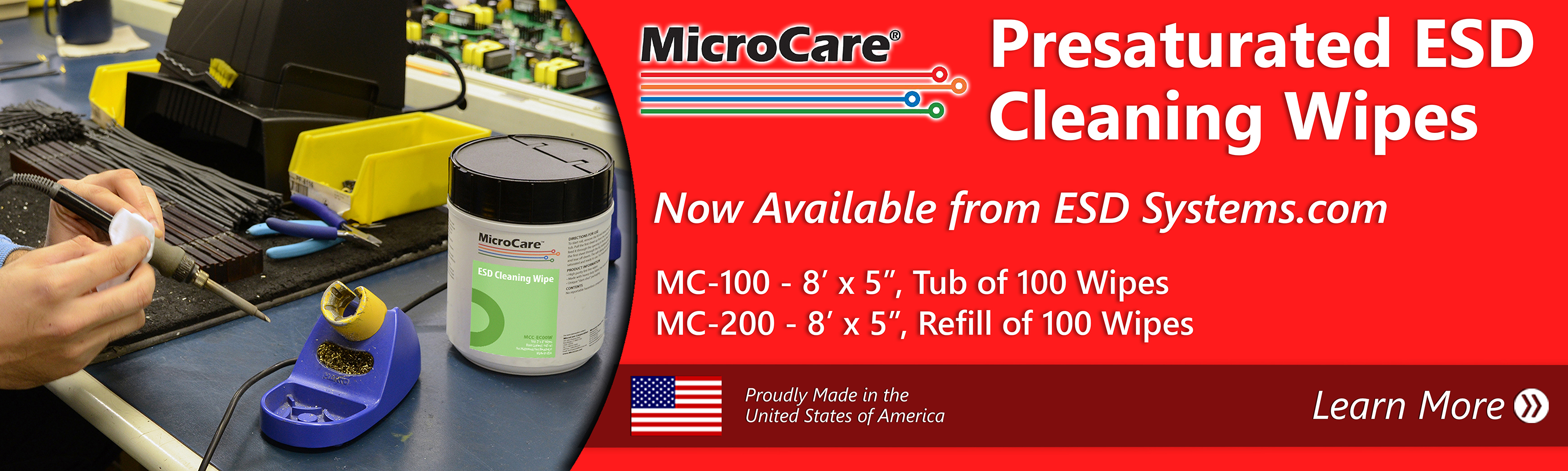 Micro Care ESD Wipes