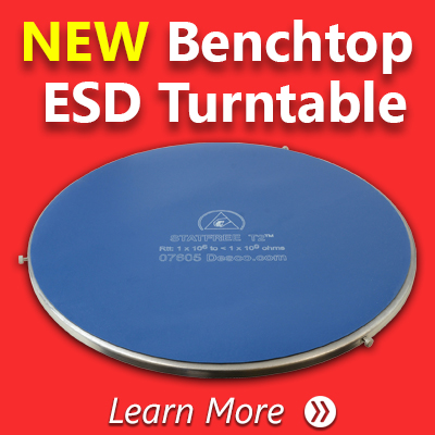 ESD Turntable